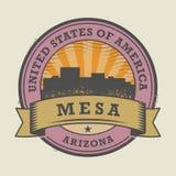 难看的东西不加考虑表赞同的人或标签与Mesa,亚利桑那的名字 皇族释放例证