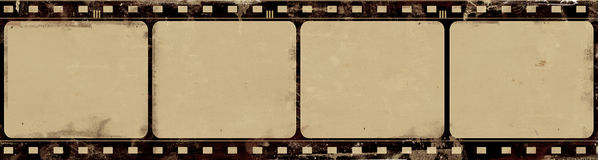 难看的东西与空间的胶卷画面文本或图象的 免版税库存图片