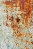 难看的东西切削的油漆生锈的织地不很细金属 免版税库存照片