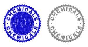 难看的东西化学制品构造了水印 向量例证