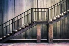 难看的东西台阶 库存照片