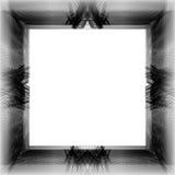 难看的东西在白色背景的被加点的框架 库存照片