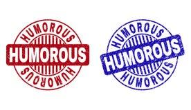 难看的东西幽默被构造的圆的水印 向量例证