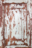难看的东西木头门 库存照片