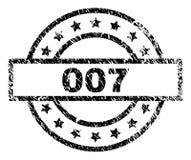 难看的东西构造了007张邮票封印 库存例证