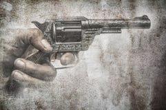 难看的东西枪 免版税图库摄影