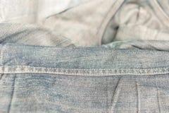 难看的东西牛仔布或蓝色牛仔裤 免版税库存图片