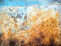 难看的东西生锈的织地不很细金属背景 库存照片