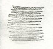 难看的东西石墨在白色背景的铅笔纹理 库存图片