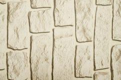 难看的东西石砖墙背景纹理 免版税库存照片