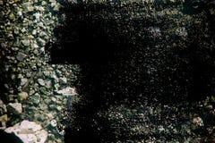 难看的东西研了象在火星土地纹理,沙子表面,石背景 免版税图库摄影