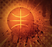 难看的东西篮球 免版税库存照片