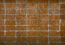 难看的东西红土带墙壁纹理 库存照片