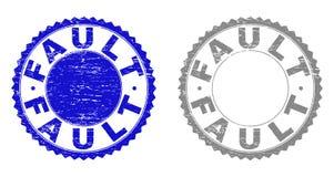 难看的东西缺点构造了邮票 皇族释放例证