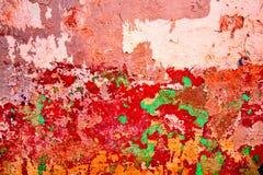 难看的东西老墙壁抽象背景  免版税库存图片