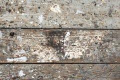 难看的东西老木甲板纹理 免版税库存图片
