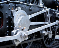 难看的东西老蒸汽机车 库存照片