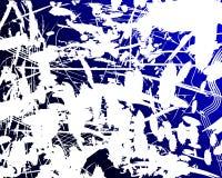 难看的东西背景蓝色和白色 免版税库存照片