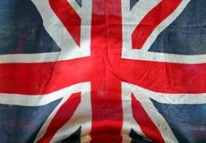 难看的东西英国国旗 免版税库存照片