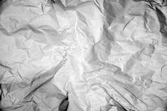 难看的东西被弄皱的纸纹理  免版税库存图片