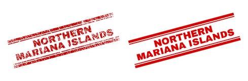 难看的东西被构造的北马里亚纳群岛邮票封印 皇族释放例证