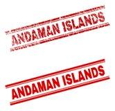 难看的东西被构造的安达曼群岛邮票封印 皇族释放例证