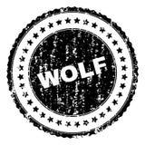 难看的东西被构造的狼邮票封印 皇族释放例证