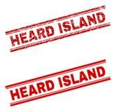 难看的东西被构造的赫德岛邮票封印 皇族释放例证