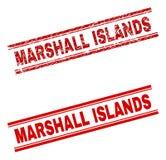 难看的东西被构造的马绍尔群岛邮票封印 皇族释放例证