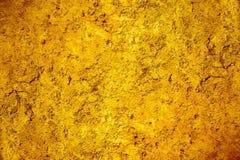 难看的东西褐色和金土气和坚实纹理背景 皇族释放例证
