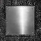 难看的东西金属背景 免版税库存图片