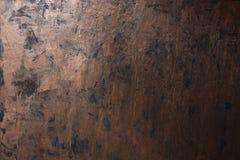 难看的东西铜金属纹理 库存照片