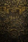 难看的东西黑暗的墙壁装饰品纹理 免版税图库摄影