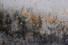 难看的东西bacground被构造的腐朽的墙壁 免版税库存照片