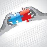 难题企业概念 免版税库存照片