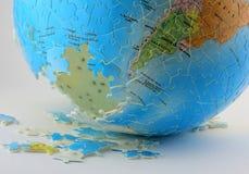 难题地球 免版税库存照片