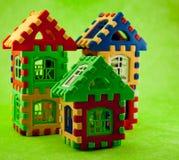 难题房子 免版税库存图片