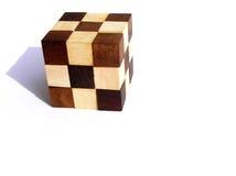 难题木头 免版税库存图片