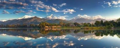 难以置信的喜马拉雅山 库存图片