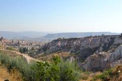难以置信风景在中间土耳其 免版税库存照片