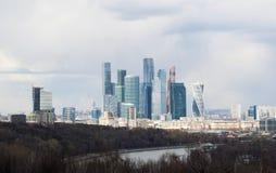 麻雀山,莫斯科,俄国联邦城市,俄罗斯联邦,俄罗斯 免版税库存照片