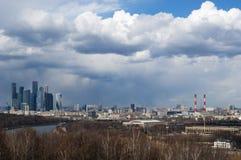 麻雀山,莫斯科,俄国联邦城市,俄罗斯联邦,俄罗斯 库存图片