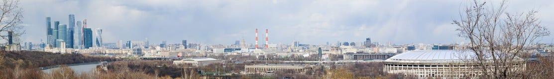 麻雀山,莫斯科,俄国联邦城市,俄罗斯联邦,俄罗斯 图库摄影