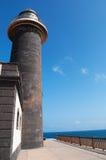 黄雀色费埃特文图拉岛海岛西班牙 免版税库存照片