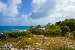 黄雀色gomera海岛海岛横向被看见的tenerife 库存图片
