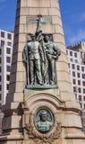 雀鳝南北战争纪念华盛顿特区 免版税库存照片
