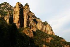 雁荡山在温州市,浙江 中国 免版税库存图片