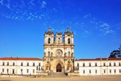 雄伟地保留的修道院 免版税库存图片