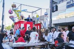 雄伟Nisei星期节日在一点东京 免版税库存图片