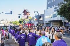 雄伟Nisei星期节日在一点东京 免版税库存照片